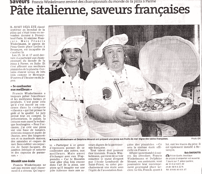 pizzas lcole de cuisine italienne